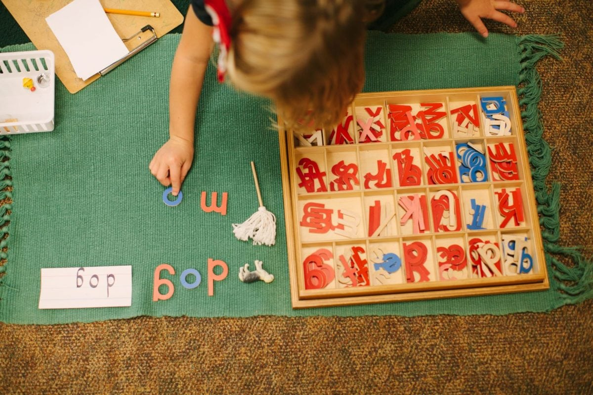 Montessori Phonetics How And Why We Use Them Step By Step Montessori Schools And Child Care Centers Mn